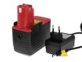 Akku für Bosch Typ 2607335160 Li-Ion inkl. Ladegerät