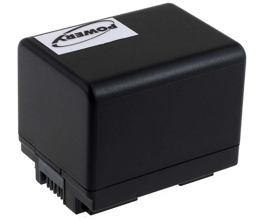 Akku zu Video Canon VIXIA HF R306 2400mAh