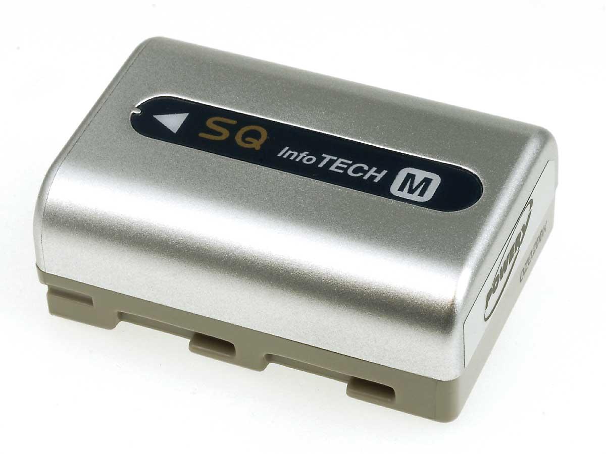 Akku zu Sony Typ NP-FM50
