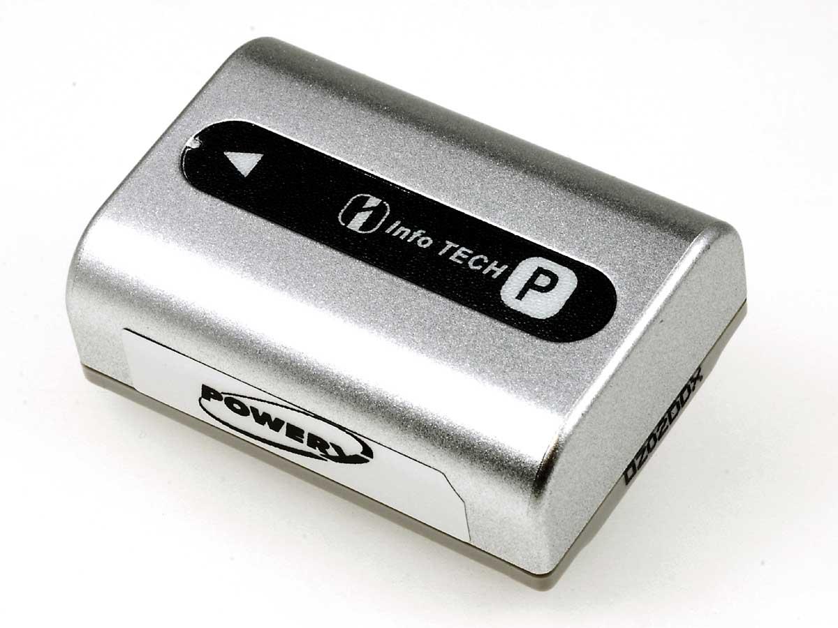 Akku zu Sony Typ NP-FP50