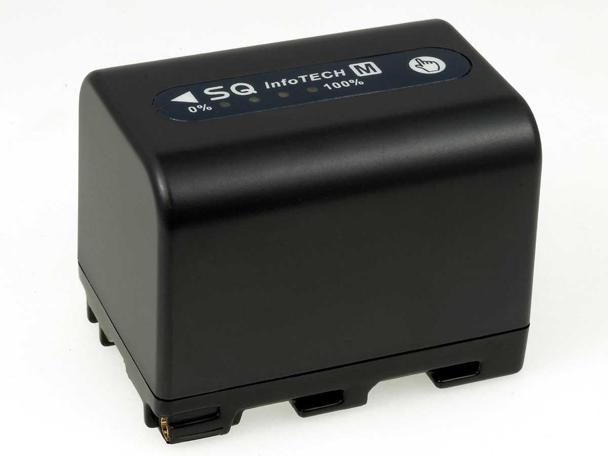 Akku zu Sony Videokamera DCR-TRV50E 2800mAh Anthrazit