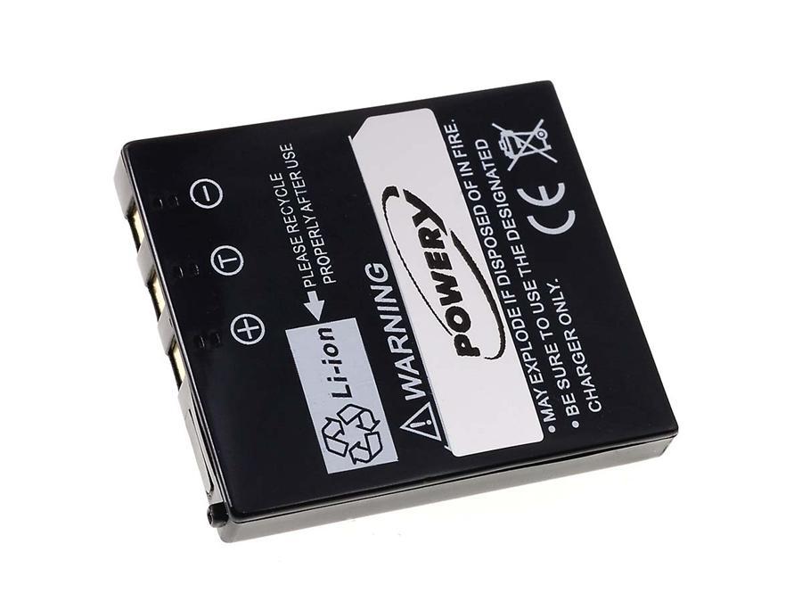 Akku zu Panasonic Typ CGA-S004E/1B