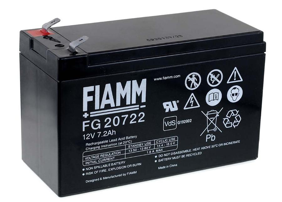 FIAMM Bleiakku FG20722 Vds