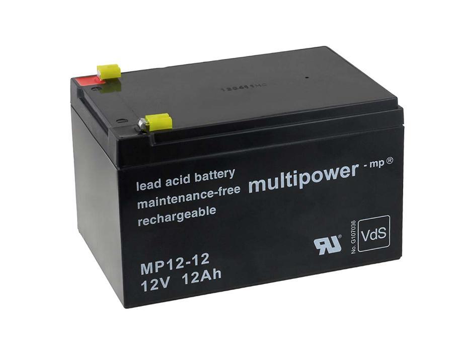 Powery Ersatzakku zu Peg Perego Notstromversorgung (USV) 12V 12Ah (baugleich 14Ah)