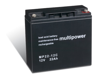 Powery Bleiakku (multipower) MP22-12C zyklenfest