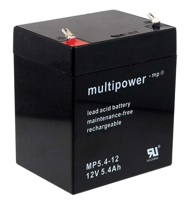 Powery Bleiakku (multipower) MP5,4-12