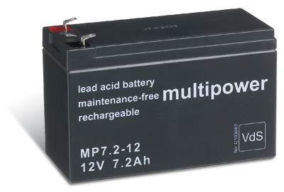 Powery Bleiakku (multipower) MP7,2-12 Vds