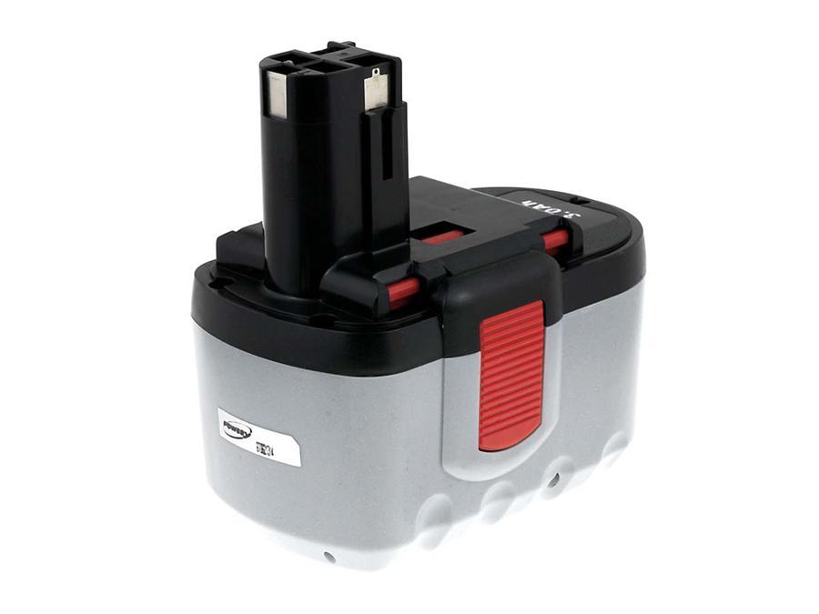 Akku zu Bosch Hammer GBH 24V Prof. NiMH 3000mAh O-Pack japan. Zellen